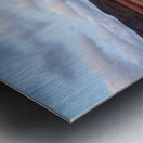 Passing Clouds Metal print