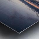 Ice flow Metal print