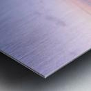 Soft lights Metal print
