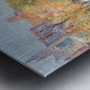 Malborough Street, Boston by Hassam Metal print
