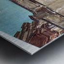 The first trade fair by Giovanni Segantini Metal print