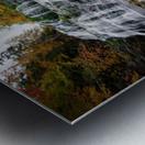 Autumn at Egypt Falls Metal print