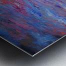 Longs Peak Winter Horizon with Waterfowl Metal print