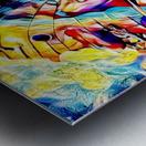Butterfly's Metal print