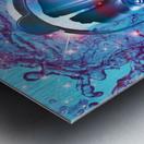Robot Transcendence Metal print
