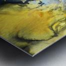 Liquid series 14 Metal print