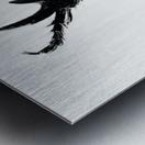 Morphing Ink Metal print