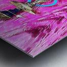 Exotic Oriental Hookah Pipe Metal print