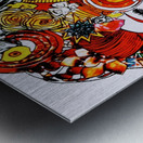DEADBUG Geisha Metal print