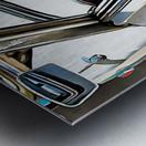 Autobianchi Bianchina Through The Window Metal print