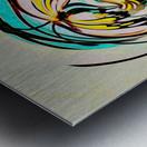 metamorphosis 2 Metal print