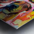 Dog Painting (8) Metal print