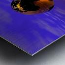 Golden Earth Metal print