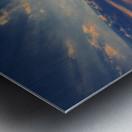 Hungarian skies CXCVIII. Metal print