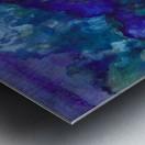Lost in Purple Metal print