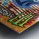 2013 ACAPULCO PRO Surf Competition Print Metal print