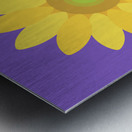 Sunflower (12) Metal print