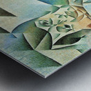Homage to Pablo Picasso by Juan Gris Metal print