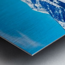 Mountain-Pano Metal print