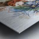 Shape of water Metal print
