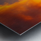 Golden Cloudscape 01 Metal print