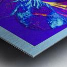 Polarization - Taken With High Powered Microscope Metal print