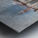 Venise le gondolier Metal print