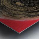 Fire Galaxy Metal print
