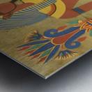 egyptian tutunkhamun pharaoh design Metal print