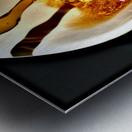 Coffee Pour  Metal print