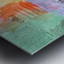 Scrapbook paris vintage france Metal print