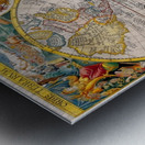 ORBIS TERRA RVM Old-Cartographic Map Metal print