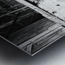 Barn Steps Metal print