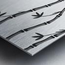 Japanese Concept 01A Metal print