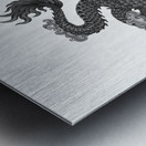 Chinese Concept 03A Metal print