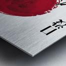 Japanese Concept 08A Metal print