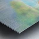 The lake Metal print