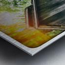 The Maple Shack Metal print