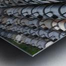 The Rail Yard - HDR Metal print
