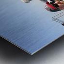 Tailgating At Gillette Stadium Foxborough Massachusetts Metal print