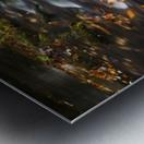 River Flow in Smokey Mountains Metal print