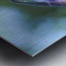 fluorite  Metal print
