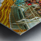 Souk Tunis Tunisie Metal print