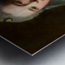 Manon Balletti by Jean-Marc Nattier - Old Masters Prints Metal print