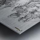 Entombment Metal print
