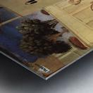 Public teaches Metal print