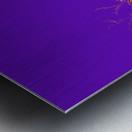 Lake Sunset - Purple Metal print
