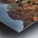 life is like a river Metal print