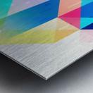 Geometric XXXXXV Metal print
