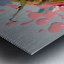 Painted Roses.04 Metal print